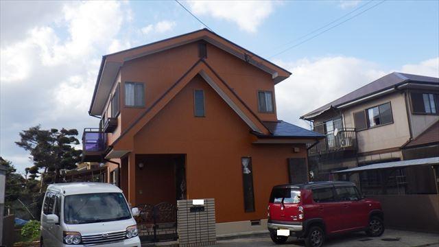 大分市渡部様 屋根外壁塗装工事