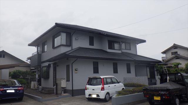 大分市 三浦様 屋根外壁塗装工事