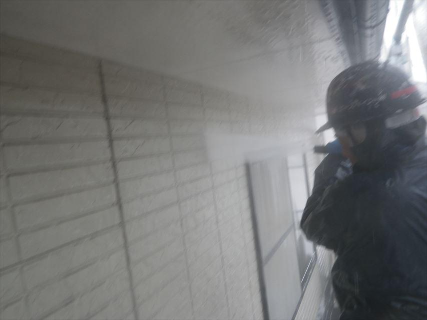 外壁高圧洗浄(水洗い)