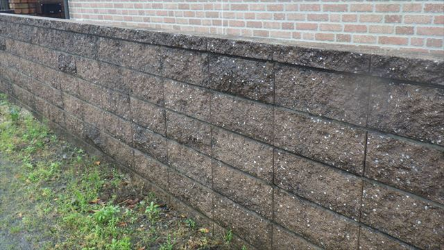外塀化粧ブロック